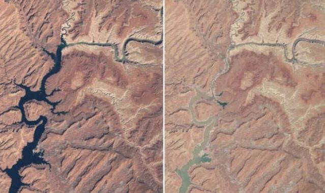 NASA'nın uydu görüntüleri bilim insanları kadar tüm dünyayı da endişelendiriyor.  Tüm dünyayı ürküten bu görüntüler NASA tarafından yayınlandı. Görüntüler küresel ısınmanın ve çevresel faktörlerin dünyayı ne hale getirdiğini gözler önüne seriyor.