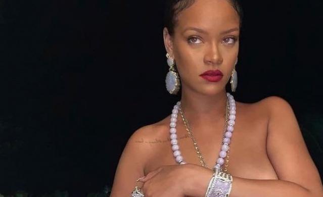 Rihanna'nın Görüntlüleri Olay Oldu