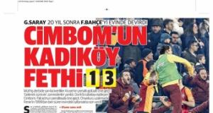 Fenerbahçe - Galatasaray derbisi manşetlerde (24 Şubat 2020)