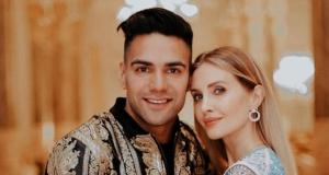 Radamel Falcao'nun eşi müjdeyi sosyal medya hesabından verdi