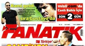 Sporun Manşetleri (26 Ağustos 2019)
