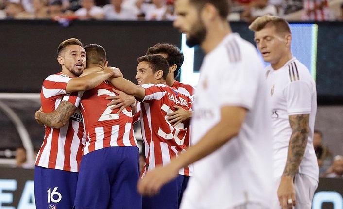 Atletico Madrid, Real Madrid'i 7-3 mağlup etti! Tarihi skor