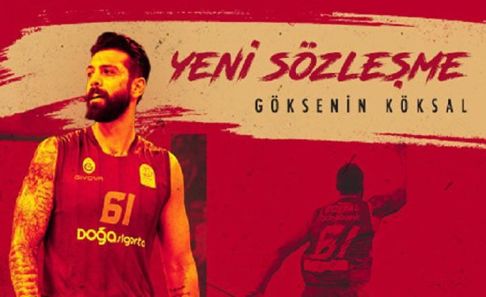 Göksenin Köksal iki yıl daha Galatasaray'da