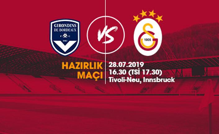Hazırlık Maçı: Galatasaray - Bordeaux