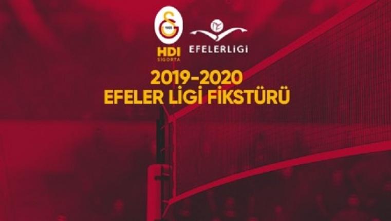 2019 - 2020 Efeler Ligi fikstürü belli oldu