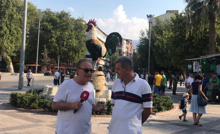 Denizli halkı provokasyona izin vermedi! Denizlispor-Galatasaray maçı öncesi gergin anlar yaşandı
