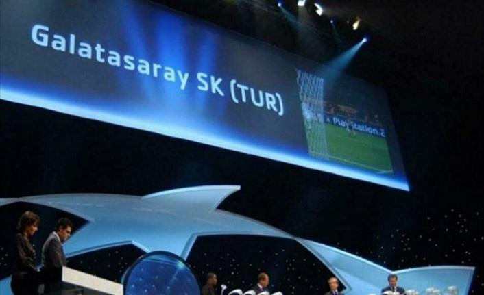 Galatasaray'ın Şampiyonlar Ligi'nde grupları belli oluyor