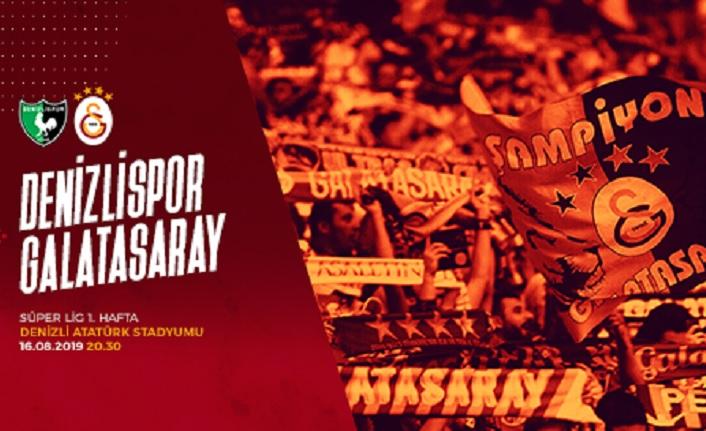 Maça doğru   Yukatel Denizlispor – Galatasaray