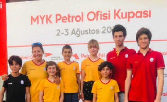 MYK Petrol Ofis Kupası Yelken Yarışları'nda dereceler