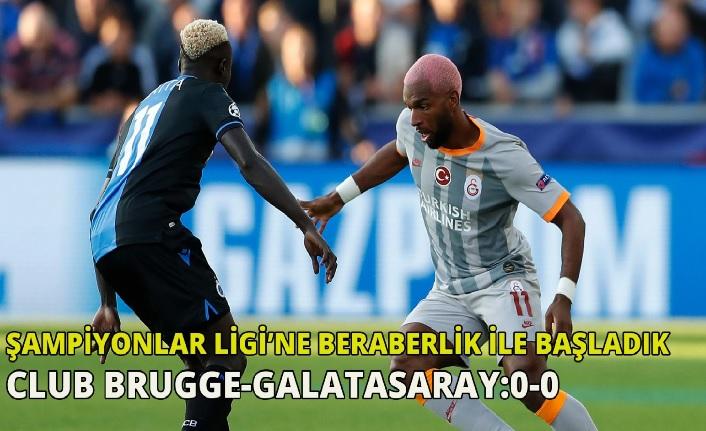 Club Brugge-Galatasaray: 0-0 Maç Sonu (Galatasarayımız beraberlikle başladı)