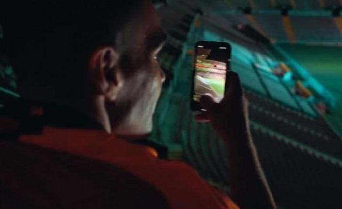 Galatasaray'dan Falcao'ya özel klip