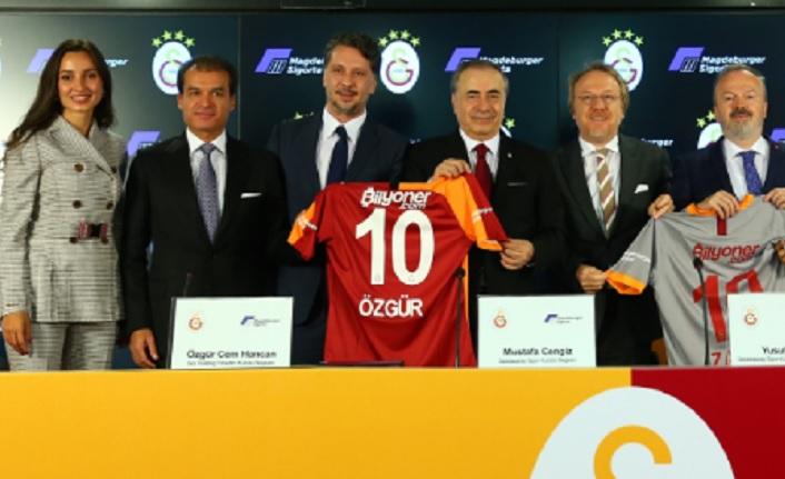 Galatasaray ile Magdeburger Sigorta arasında sponsorluk anlaşması imzalandı