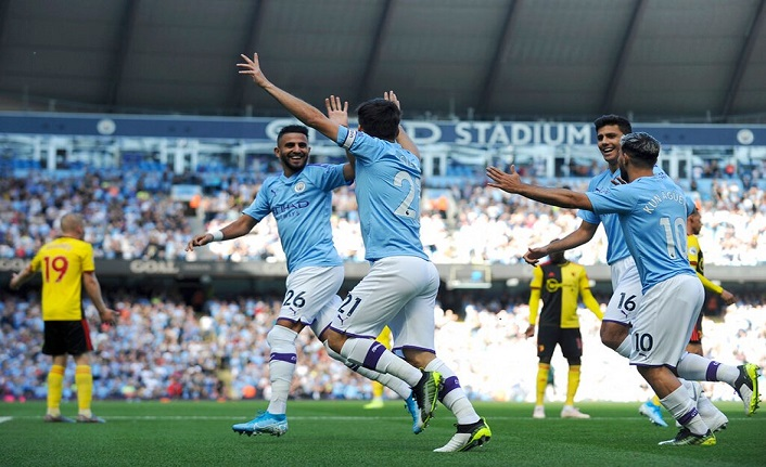 Manchester City gol oldu yağdı! 8 - 0