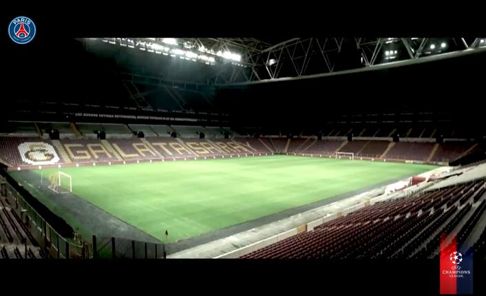 PSG'den Galatasaray maçı paylaşımı