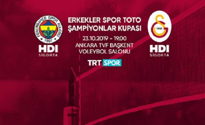 2019 Spor Toto Erkekler Şampiyonlar Kupası Ankara'da Yapılacak