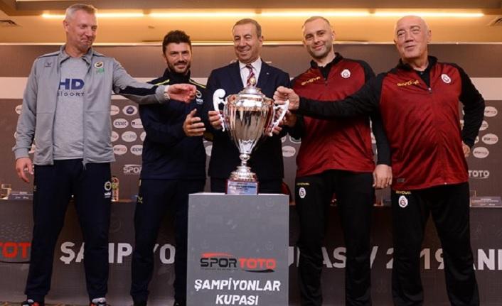 2019 Spor Toto Erkekler Şampiyonlar Kupası Basın Toplantısı Yapıldı