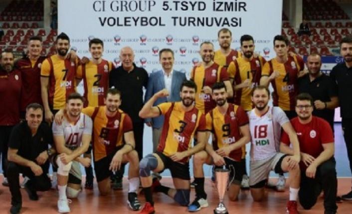 5. TSYD Voleybol Turnuvası Şampiyonu Galatasaray HDI Sigorta