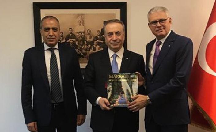 Ankara Fas Krallığı Büyükelçisi ve İstanbul Başkonsolosu'ndan Başkan Mustafa Cengiz'e ziyaret