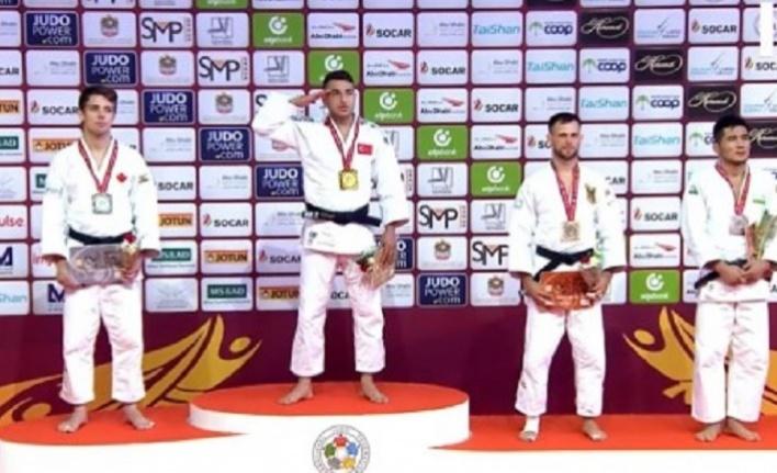 Bilal Çiloğlu Judo Grand Slam'de altın madalya kazandı