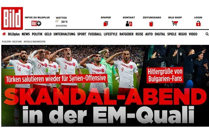 Bild'den A Milli Takım için skandal başlık!