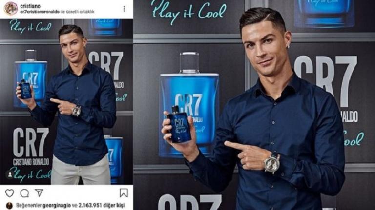 Cristiano Ronaldo'nun Instagram kazancı, Juventus'taki maaşını geçti