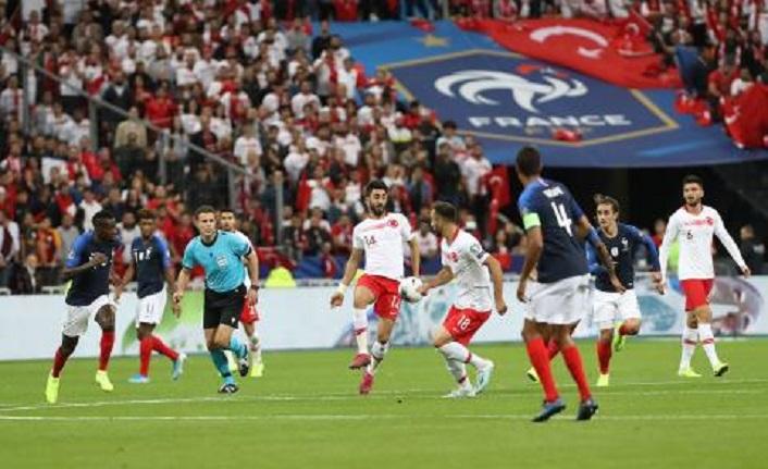Fransa'dan lider dönüyoruz! Fransa 1-1 Türkiye