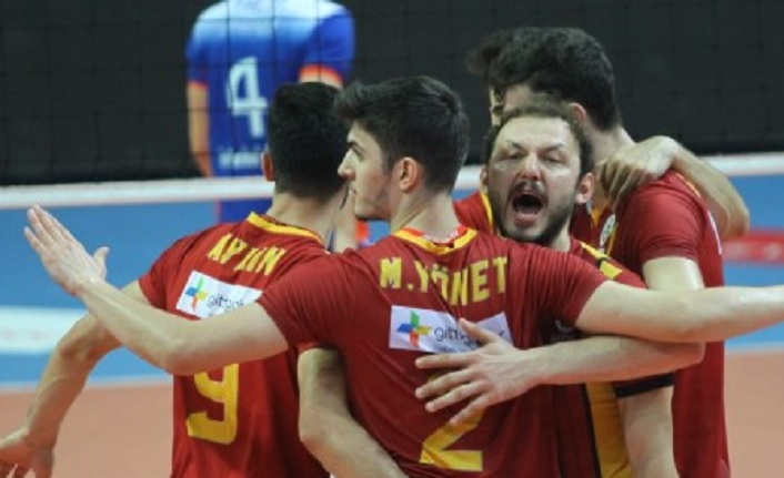 Galatasaray HDI Sigorta 3-2 İstanbul Büyükşehir Belediye
