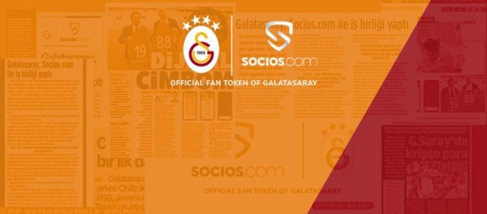 Galatasaray - Socios.com İş Birliği Dünya Basınında