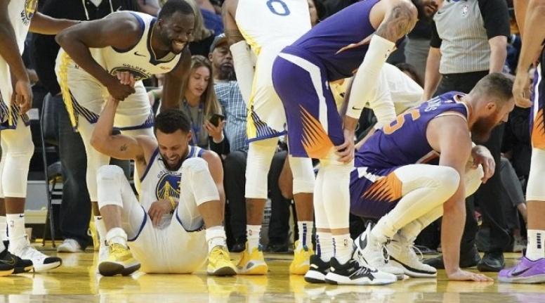 Golden State Warriors'ta büyük şok! Stephen Curry'de kırık var!