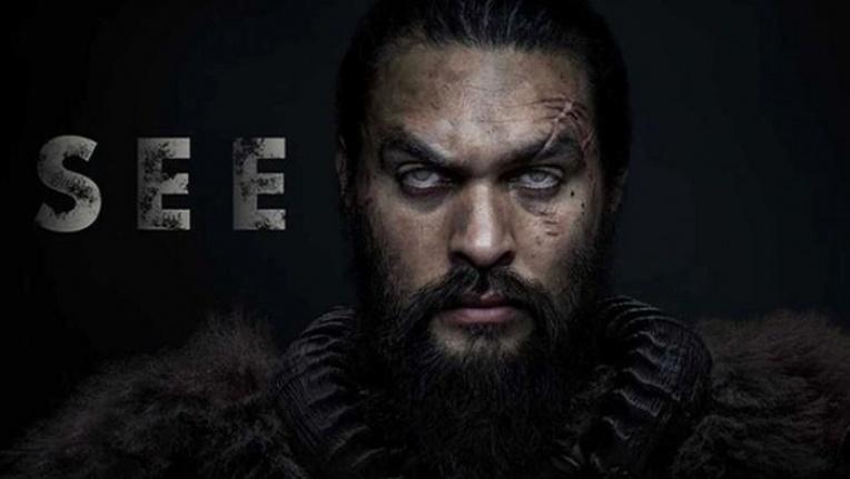 Jason Momoa'nın oynadığı 'See' dizisi, Game of Thrones'un tahtına göz dikti