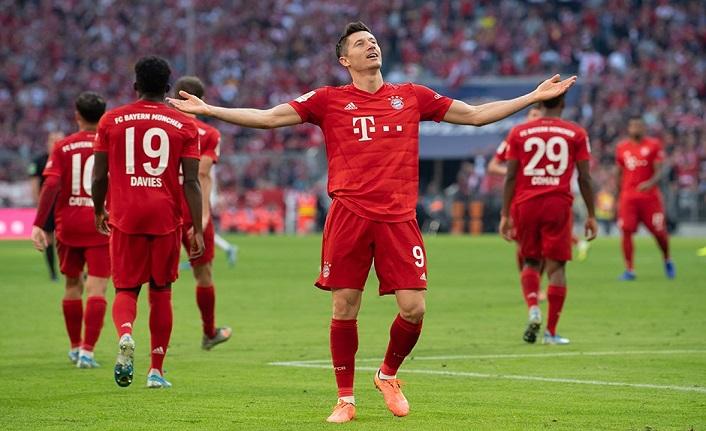 Lewandowski tarihe geçti! Bayern Münih maç fazlasıyla zirveye çıktı