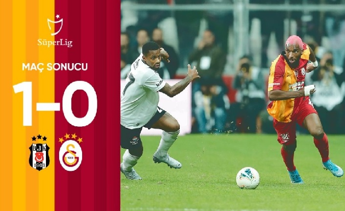 Maç sonucu: Beşiktaş 1-0 Galatasaray
