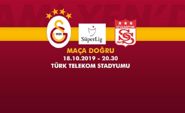 Maça doğru   Galatasaray – Demir Grup Sivasspor