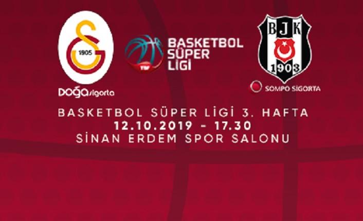 Maça doğru   Galatasaray Doğa Sigorta - Beşiktaş Sompo Sigorta