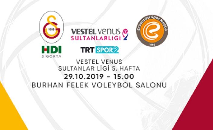Maça doğru   Galatasaray HDI Sigorta - Eczacıbaşı Vitra