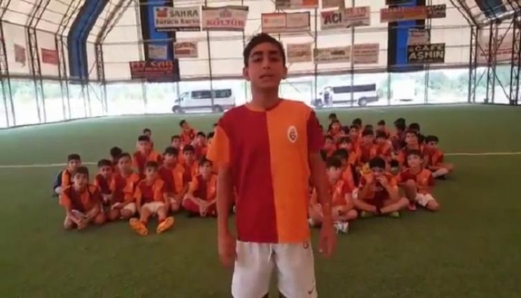 Terör mağduru çocuklardan eski Başkan Adnan Polat'a mesaj