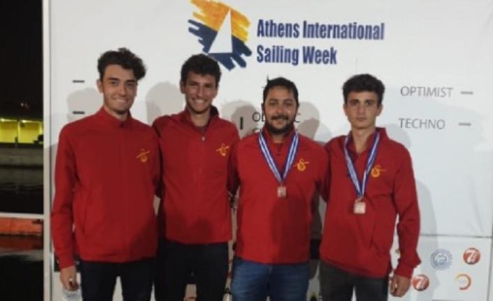 29. Atina Uluslararası Yelken Haftası'nda 1 gümüş 1 bronz madalya