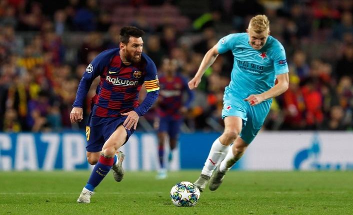 Camp Nou'da gol sesi çıkmadı! Barcelona 0-0 Slavia Prag