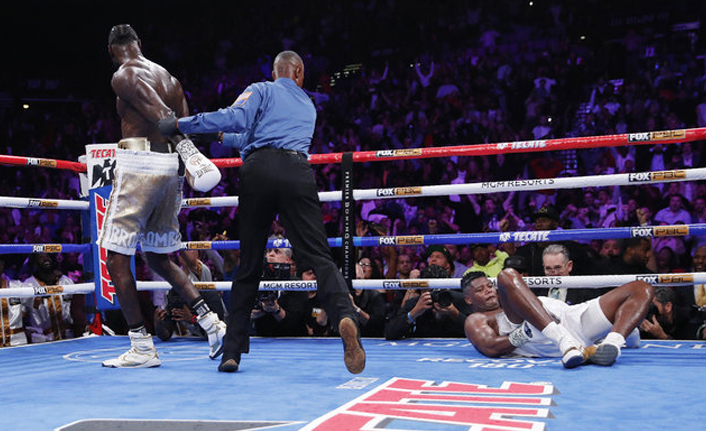 Deontay Wilder, Muhammed Ali'yi yakaladı!