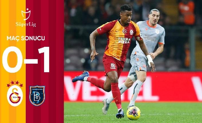 Galatasaray 0-1 Medipol Başakşehir