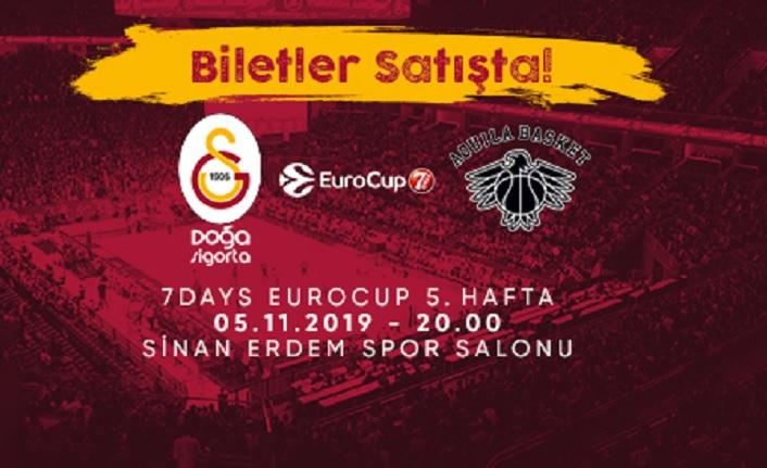 Galatasaray Doğa Sigorta - Dolomiti Energia Trento biletleri satışta