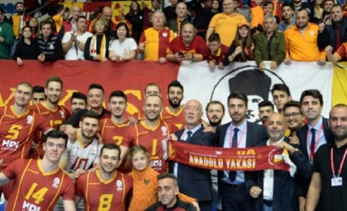 Galatasaray HDI Sigorta 3-0 Tokat Belediye Plevne