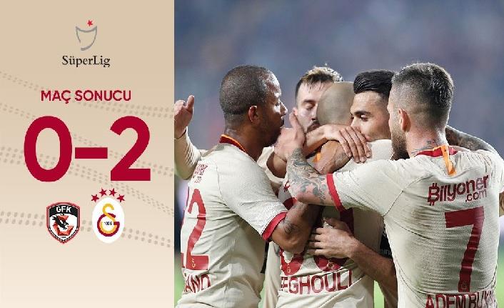 Maç sonucu: Gaziantep FK 0-2 Galatasaray