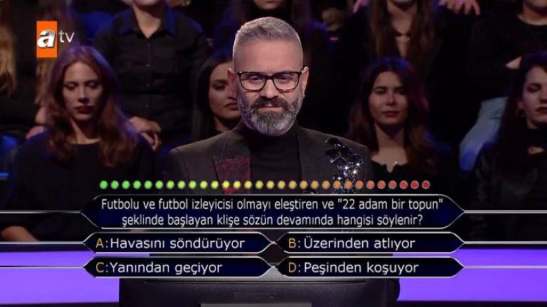 Kim Milyoner Olmak İster'de yarışmacı ilk soruda elendi! Futbolseverler şoke oldu