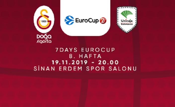 Maça Doğru | Galatasaray Doğa Sigorta - Unicaja Malaga