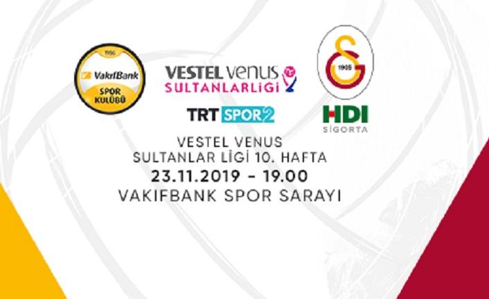 Maça doğru   Vakıfbank - Galatasaray HDI Sigorta