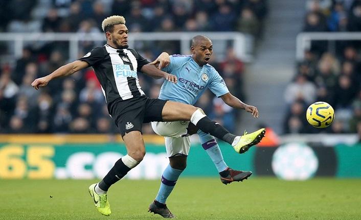 Manchester City'ye bir çelme de Newcastle United'dan!