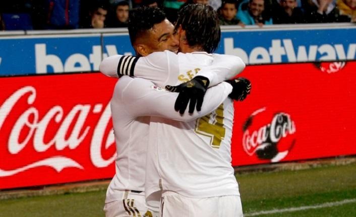 Real Madrid deplasmanda istediğini aldı: 1-2