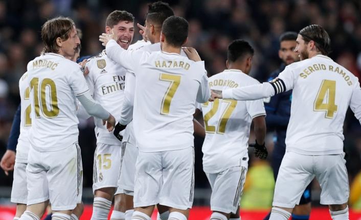 Real Madrid rahat kazandı!