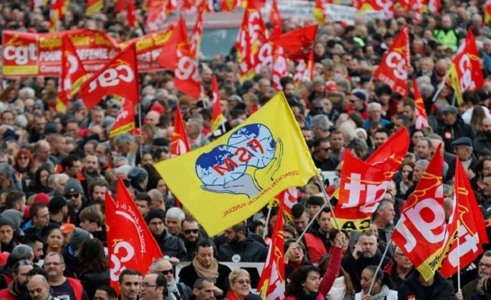 Büyük grev, Galatasaraylılar'ı da etkiledi